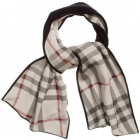 BURBERRY Black Scarf
