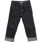 BURBERRY Boys Dark Blue Jeans