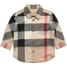 BURBERRY Boys Herringbone Nova Check Shirt