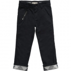 BURBERRY Boys Navy Blue Chino Trousers