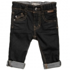 BURBERRY Boys Slim Fit Black Denim Jeans