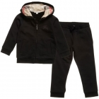 BURBERRY Boys Black Cotton Tracksuit