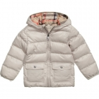 BURBERRY Boys Beige Puffer Jacket