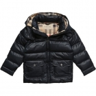 BURBERRY Boys Blue Puffer Coat-80209
