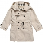 BURBERRY Boys Beige Mini Trench Coat