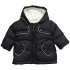 BURBERRY Navy Blue Padded Coat