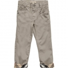 BURBERRY Boys Beige Gabardine Trousers