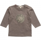 BURBERRY Boys Khaki Green Cotton Top-80241