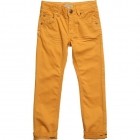 BURBERRY Boys Yellow Cotton Jeans