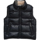Boys Navy Blue Padded Sleeveless Jacket