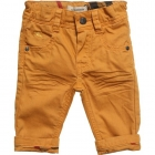 BURBERRY Baby Boys Yellow Cotton Jeans-80228