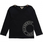 BURBERRY Cotton Stamp Logo Top