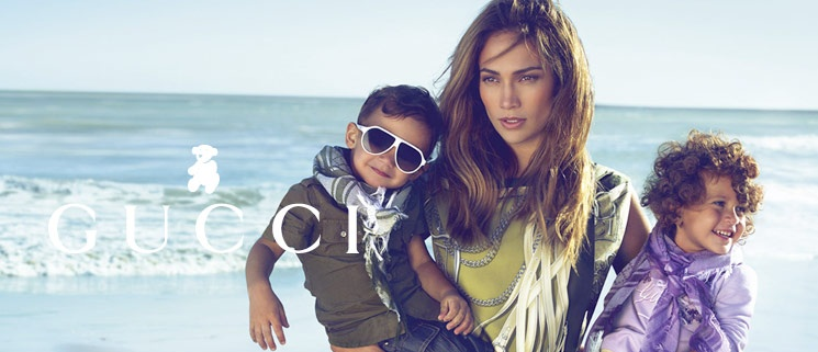 Founded in 1921, Gucci is one of the world's most desirable fashion brands. Renowned for quality and the 'GG' logo, they create exclusive designs for children and babies aged newborn to 12 years.