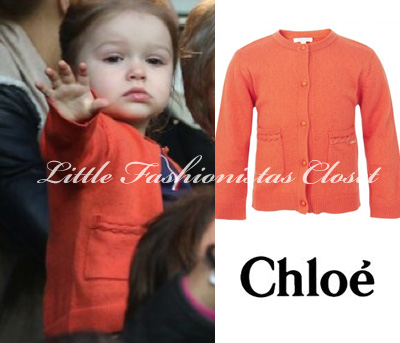 harper-seven-beckham-chloe-plaited-orange-cardigan