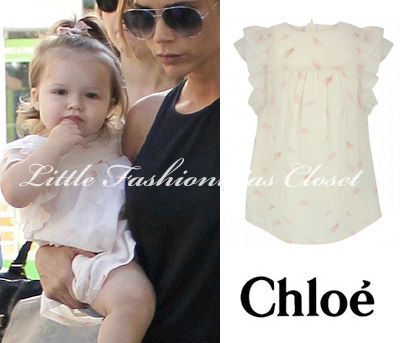harper-seven-beckham-wearing-chloe-faether-print-dress