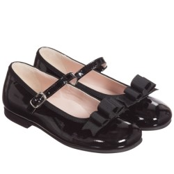 il-gufo-girls-navy-blue-patent-shoes-with-bow-イルグッフォ_子供_海外通販_個人輸入