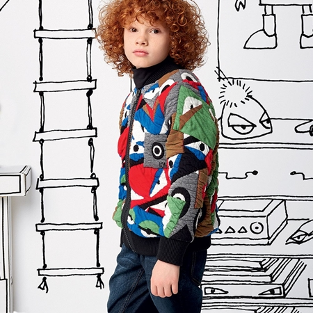 fendi-quilted-cotton-jacquard-monster-varsity-jacket-フェンディ_バグ_個人輸入_チルドレンサロン_childrensalon
