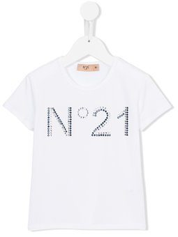 nº21 kids_ヌメロ ヴェントゥーノキッズ_ロゴ Tシャツ_プレゼント_個人輸入_海外通販
